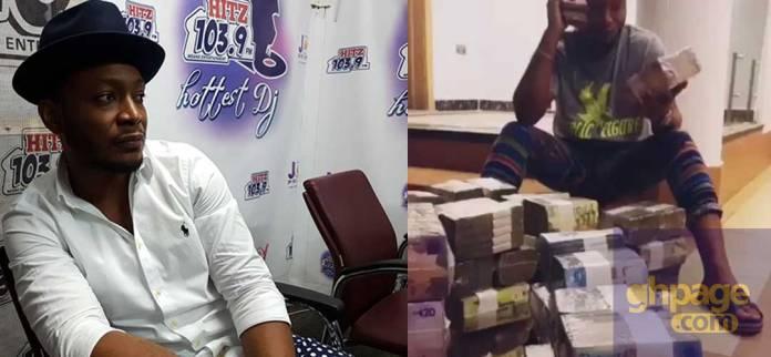 Nana Borro flaunts cash on social media to motivate fans