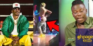 "Shatta Wale disgraced Ghana by showing his ""buttocks"" on stage - Stonebwoy"