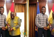Stonebwoy visits and invites Nana Addo to his Bhim concert