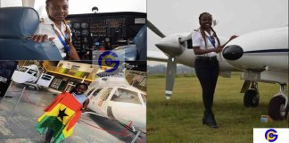 """""""I was really scared and wanted to throw up"""" - Ghana's youngest pilot"""