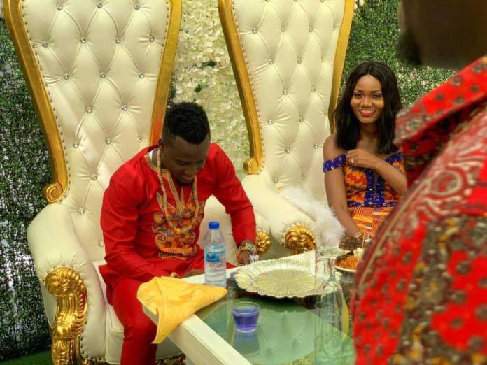 David Accam weds Florence Dadson