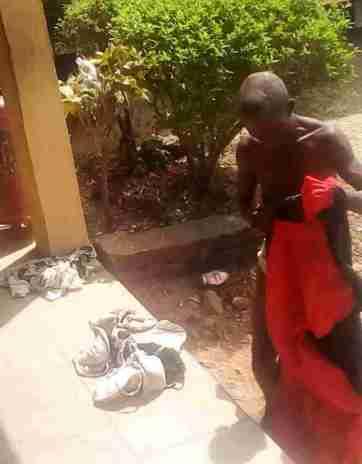 Man arrested with ladies underwear