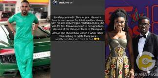 'I'm disappionted in NAM1's favorite 'slay queen' for deleting all her photos with him' – Ibrah Wan