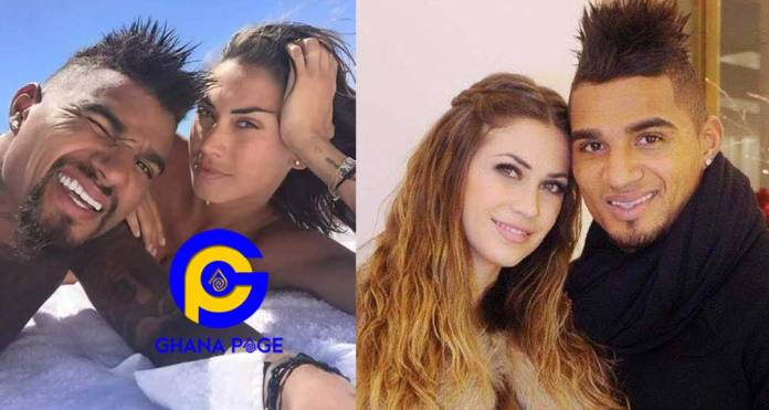 Kelvin Prince Boateng and wife, Melissa file for divorce