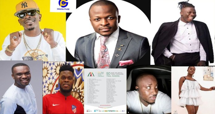 List of 2018 top 50 most influential young Ghanaians finally released