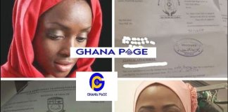 Muslim lady 'rejected' by Ghana Health Service over refusal to take off her hijab(Veil)