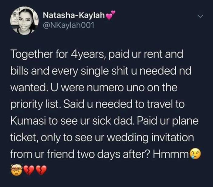 Natasha Kaylah's post on Twitter
