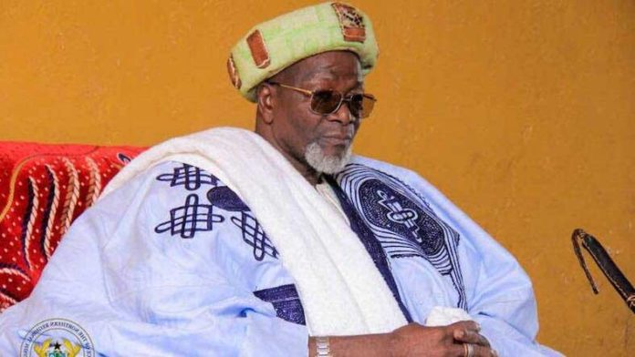 Yo-Naa Abukari Mahama II, the new Yaa-Naa of Dagbon