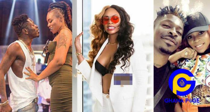 Shatta Wale Michy 1 - Shatta Michy flaunts new ring on social media