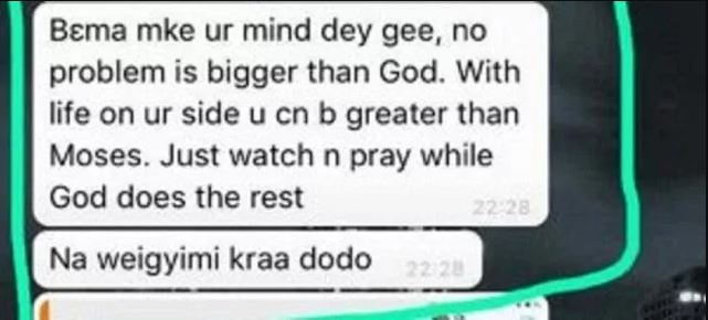 Last Whatsapp chat of UDS student who committed suicide pops up online