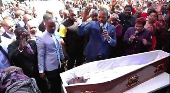Arise! Pastor caught on video bringing 'dead man' back to life