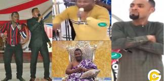 Watch:Last video of Obinim's son, Senior Bright performing with Rev. Obofuor before his death