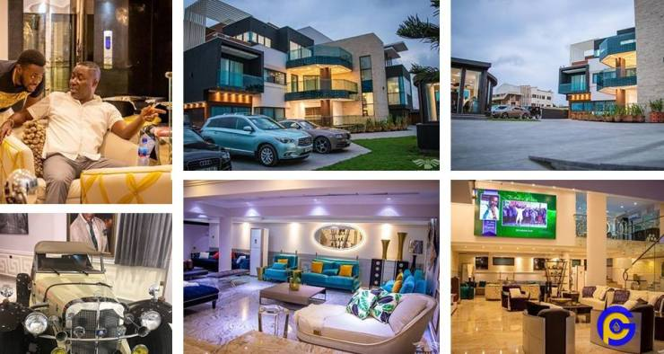 Photos of Osei Kwame Despite's renovated 20-year-old mansion - GhPage
