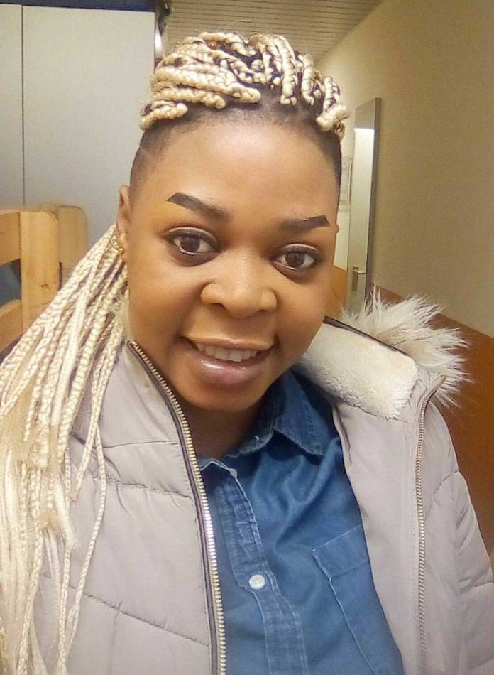 Joyce Dzidzor Mensah 2 - Dzidzor Mensah begs in offices in abroad for money to build Cathedral