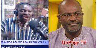 Ken Agyapong will go mad and roam the streets naked-Mugabe Maase