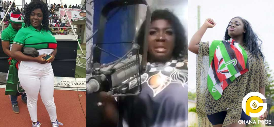 Tracey Boakye asks Family members to paint her coffin with NDC colours