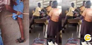 Teacher leaves students to fight because GES has banned canning