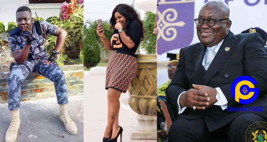 Afia Schwarzenegger Police Akufo Addo - Afia Schwar mocks the Police after Akufo Addo promised them helicopter