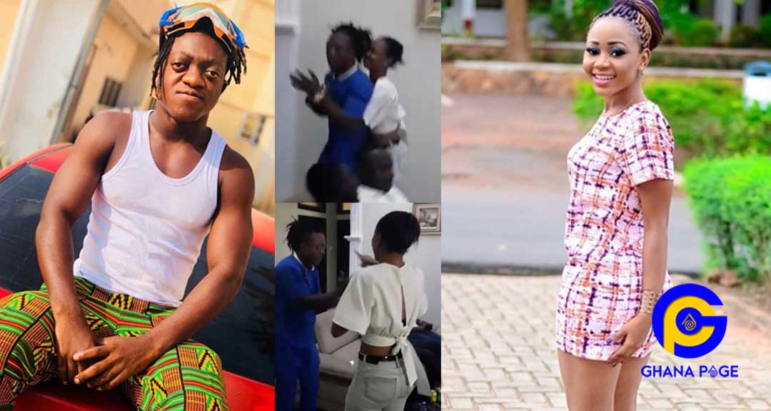 Video: Akuapem Poloo and Sumsum Ahofe exchange blows when they met for the first time