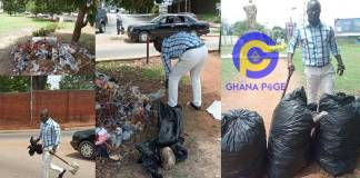 CTV morning show host, Kwame Tutu breaks the internet with his #trashtagchallenge [Photos]