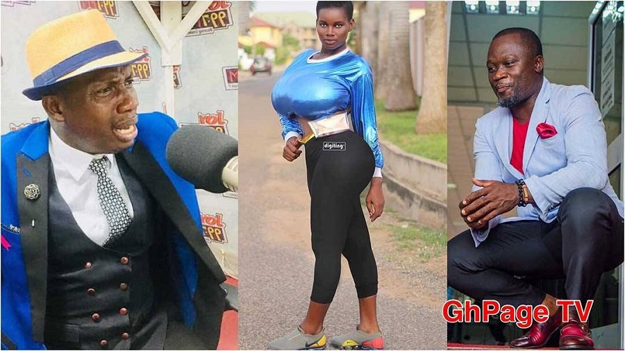 OLA MICHEAL ODAME LUTTERODT - Lutterodt rebukes Pamela Odame for insulting Ola Micheal on radio
