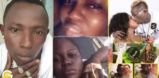 Video: Patapaa's girlfriend, Queen Peezy collapses from broken heart- Rushed to the hospital