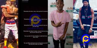 Pope Skinny told me Adom FM boss,DJ Wobete and other DJs at Adom FM are gays-Shatta Wale