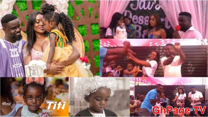 Watch the exclusive video from Sarkodie's daughter, Titi's birthday party