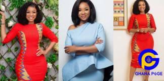 Serwaa Amihere releases stunning photos to celebrate her 29th birthday
