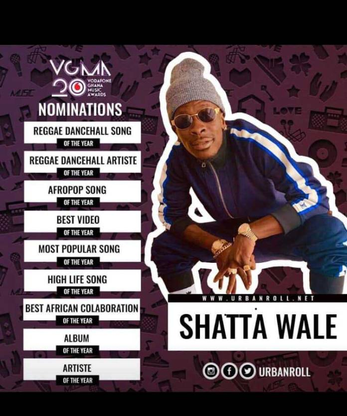Shatta Wale Nomination VGMA 2019 - I'll use the credit to stream Stonebwoy's video – Fan who won credit from Shatta Wale