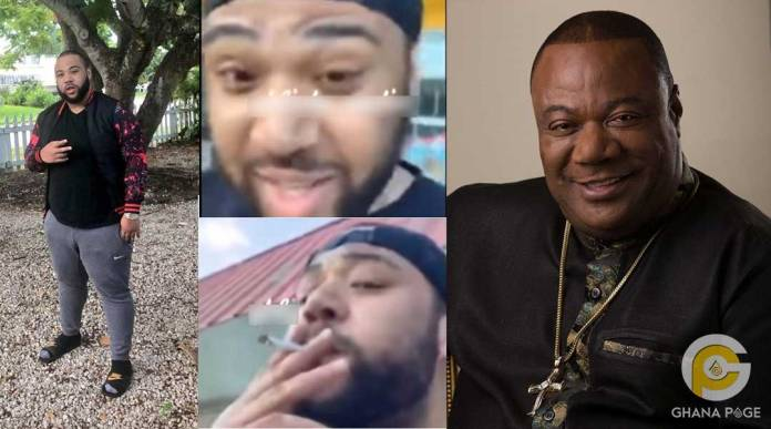 Video of Archbishop Duncan Williams son smoking weed goes viral