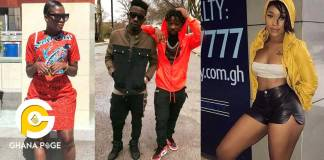 Fella Makafui mocks Efia Odo for her alleged 3some with Junior US and Shatta Wale for $2k