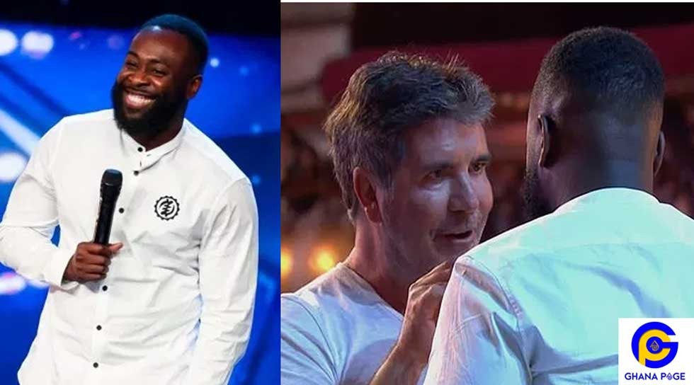 KOJO ANIM SIMON COWEL - Ghanaian comedian Kojo Anim gets Golden Buzzer at Britain's Got Talent 2019