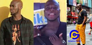Photos: Meet King Promise's 'twin brother' who has tattooed his name on his chest