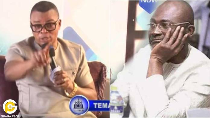 Video:Obinim sends last warning to Ken Agyapong -threatens to deal with him if he 'fools' again