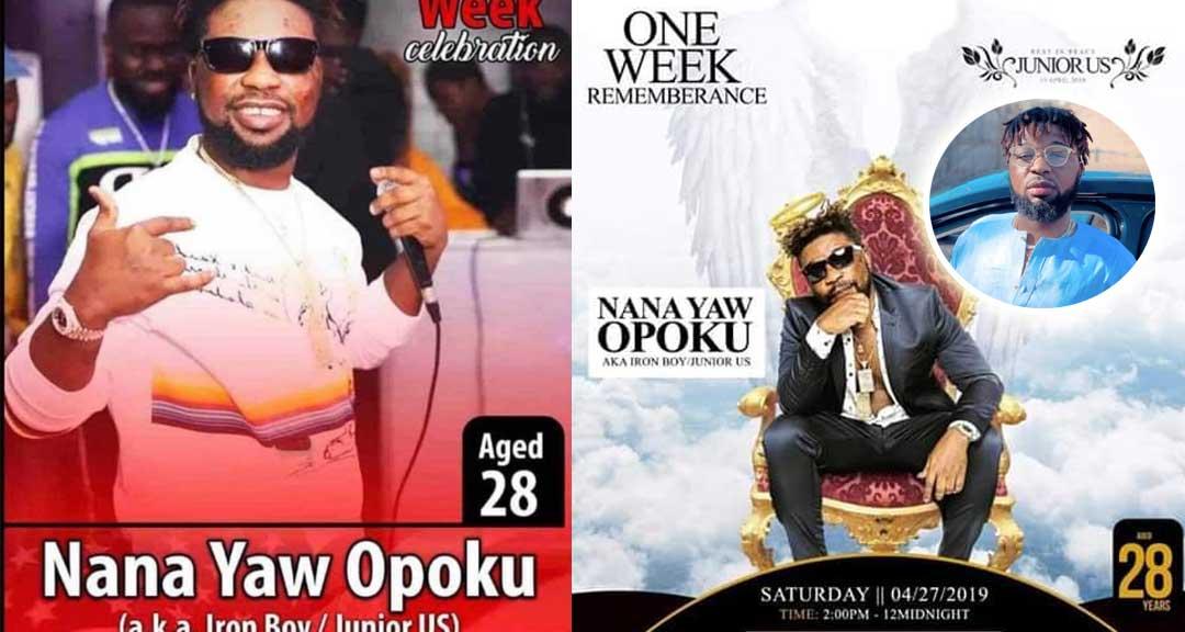 One Week observation Junior - One Week Celebration posters of Junior US pops up online