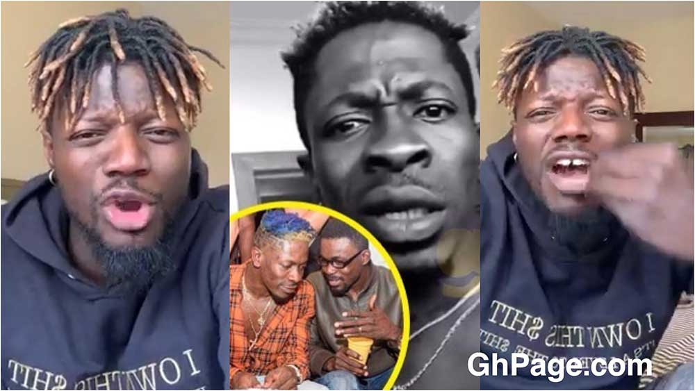 Pope Skinny Shatta Wale NAM1 - Pope Skinny shades Shatta Wale & co for showing fake love to NAM1