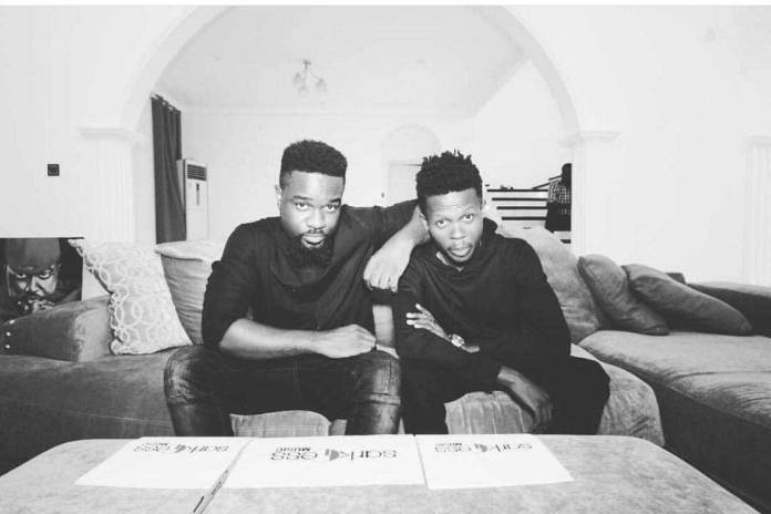 """Sarkodie Strongman 1 - """"I fought very hard to reach here & God knows what I'm saying"""" – Strongman"""
