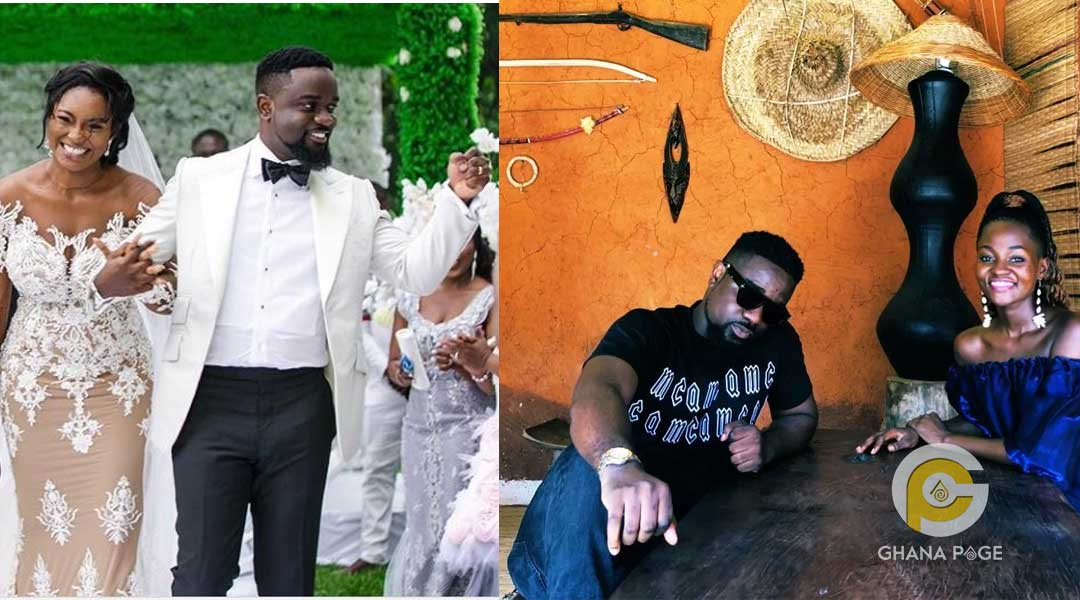 Sarkodie marriage ring - Sarkodie spotted without his wedding ring sparks rumours