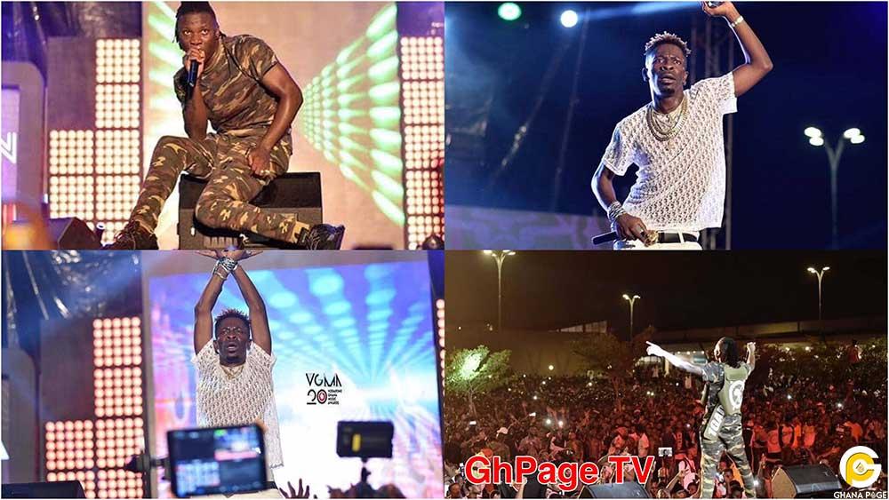 Shatta Wale Stonebwoy VGMA Nominees Jam 2019 - Stonebwoy, Shatta Wale performances at VGMA nominees jam at Kumasi mall