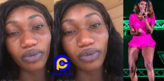 Wendy Shay breaks the internet with a shocking no make-up photo