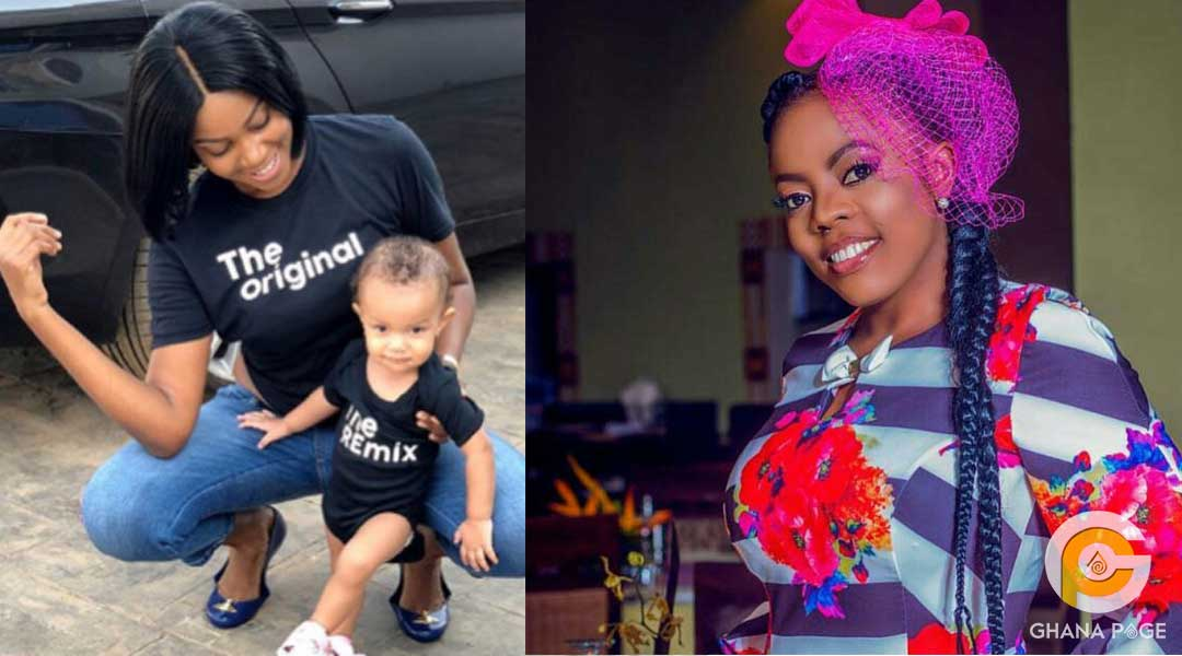 Yvonne Nelson Nana Aba Anamoah - Yvonne Nelson deletes all photos of her daughter on social media