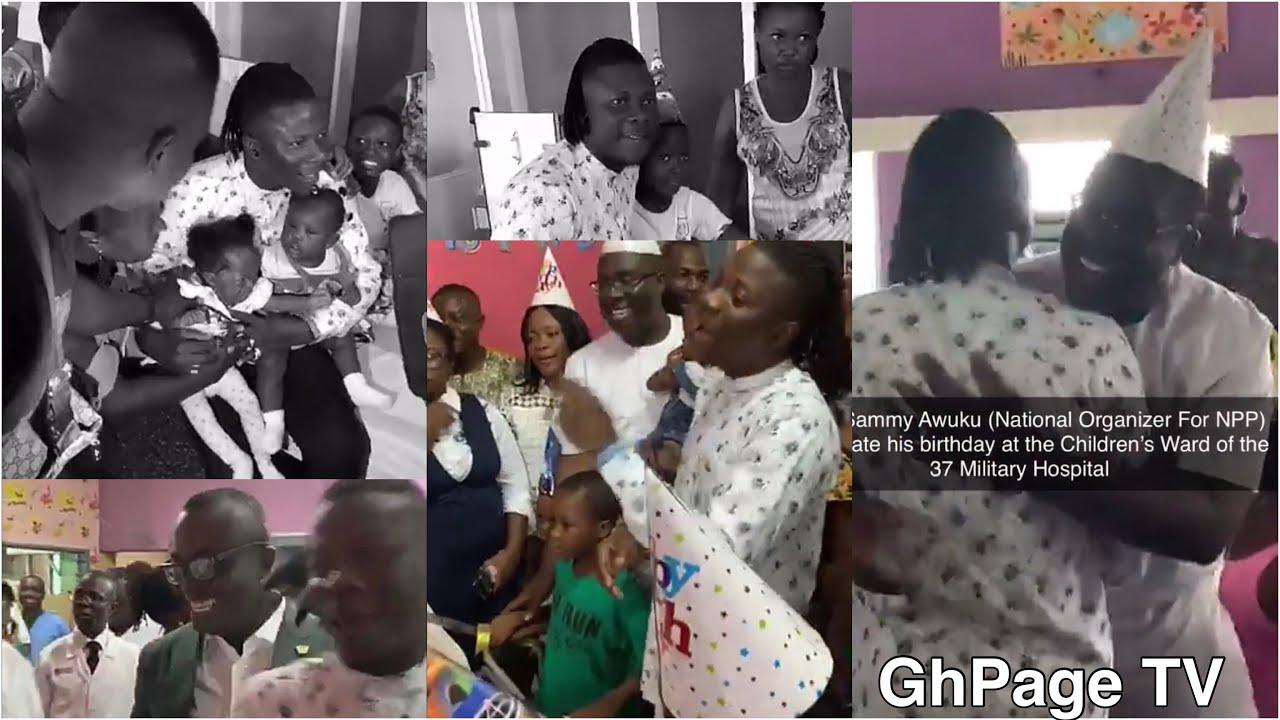maxresdefault - Stonebwoy joins Sammy Awuku to celebrate birthday at 37 children's ward