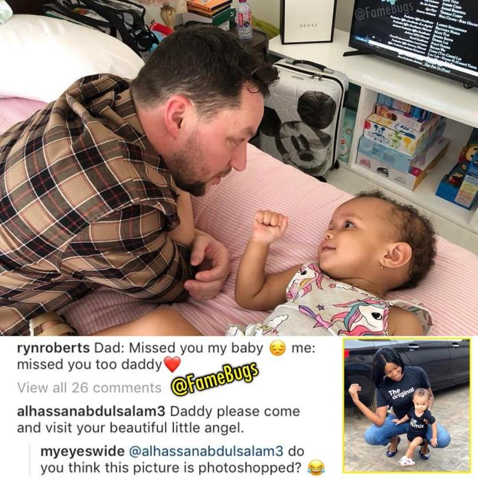 ryn roberts - Yvonne Nelson deletes all photos of her daughter on social media