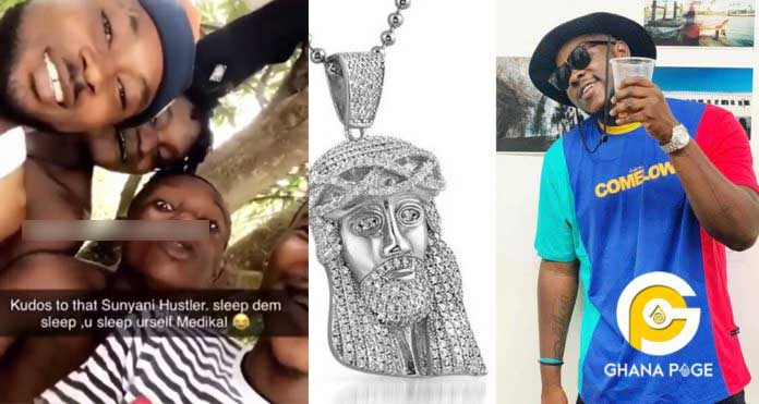 We won't return your chain - Alleged thieves tell Medikal