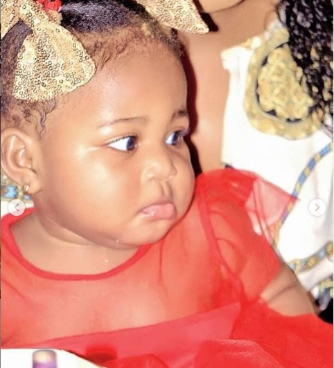SEE PHOTOS:  Beautiful wife and daughter of music star DJ Arafat 11