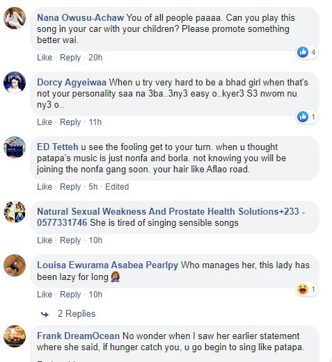 Social media users lambast 'good girl' eShun for releasing profane song 4