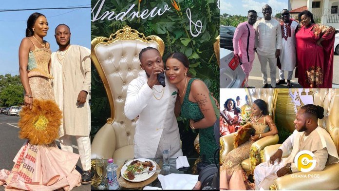 Keche Andrew and Joan Gyan's wedding