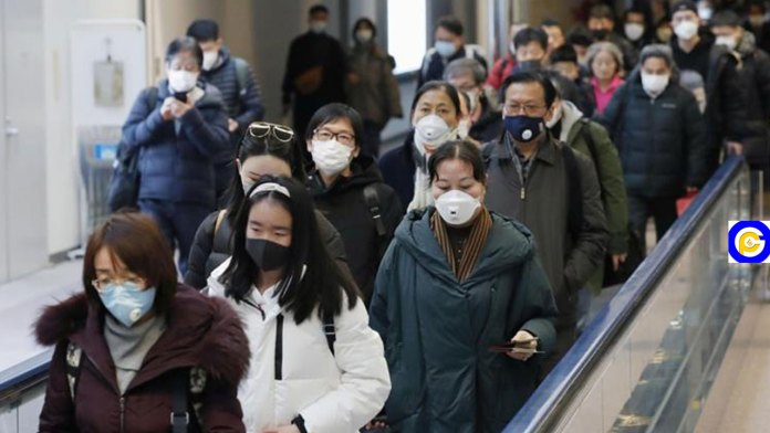Coronavirus-Humans-sprayed-like-Cocoa-Pod-on-arrival-at-airport