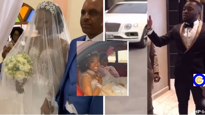 First-videos-from-the-White-Wedding-of-Kennedy-Osei-&-Tracy